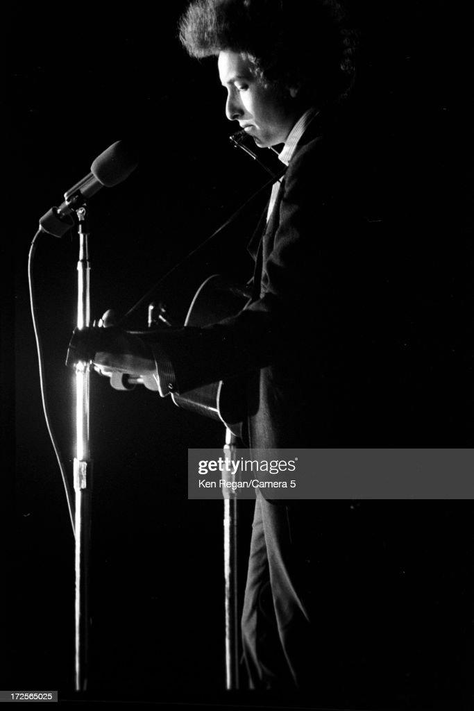 Bob Dylan, Ken Regan Archive, August 28, 1965 : News Photo