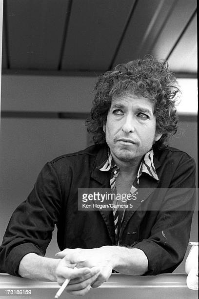 Singer Bob Dylan is photographed on July 1 1984 in Paris France CREDIT MUST READ Ken Regan/Camera 5 via Contour by Getty Images