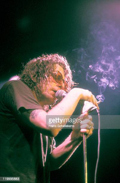 Singer Bob Forrest from American band Thelonious Monster performs live on stage at the Melkweg in Amsterdam, Netherlands on 2nd March 1993.
