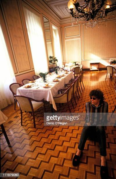 Singer Bob Geldof of The Boomtown Rats in San Remo during the San Remo Musical Festival in Italy 1981