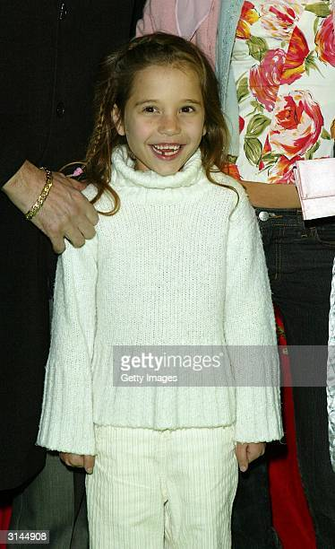 Singer Bob Geldof's daughter Tiger Lily arrives at the afterparty for the UK premiere of ScoobyDoo 2 Monsters Unleashed at the Carling Academy...