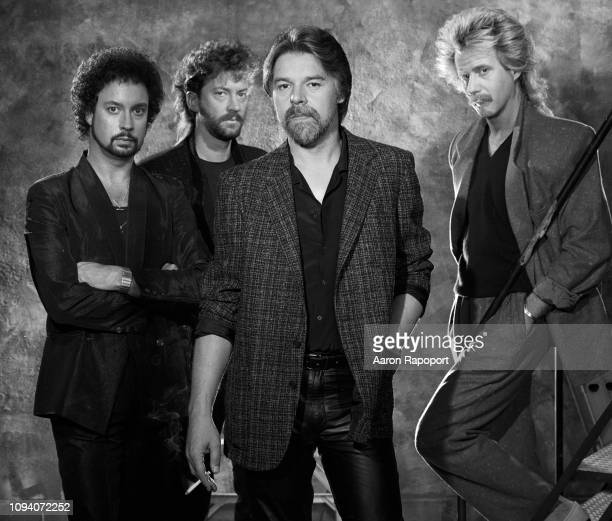 Singer Bob Seger The Silver Bullet Band pose for a portrait circa 1988 in Los Angeles California