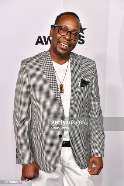 Singer Bobby Brown attends PREMIX Hosted By Connie Orlando at The Sunset Room on June 20 2019 in Los Angeles California