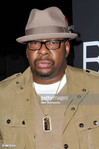 Singer Bobby Brown attends the NBA AllStar Bowling Classic at Lucky Strike LA Live on February 15 2018 in Los Angeles California