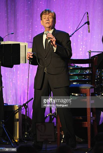 Singer Bobby Caldwell performs at The Midnight Mission's 11th Annual Golden Hearts Awards on May 9 2011 in Beverly Hills California