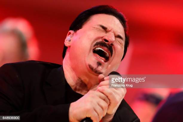 US singer Bobby Kimball perform at the Man Doki Soulmates Wings Of Freedom Concert in Berlin on March 6 2017 in Berlin Germany