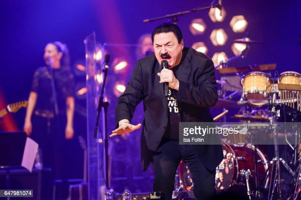 US singer Bobby Kimball performs at the Man Doki Soulmates Wings Of Freedom Concert on March 3 2017 in London United Kingdom