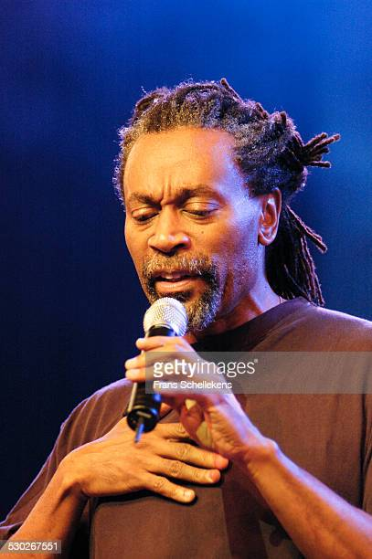 Singer Bobby McFerrin performs at the North Sea Jazz Festival on July 8th 2005 in Amsterdam Netherlands