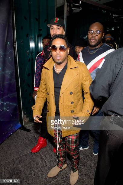 Singer Bobby V attends his album listening party at W Atlanta Downtown on March 7 2018 in Atlanta Georgia