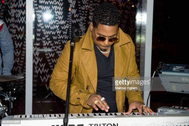 Singer Bobby V performs onstage during his album listening party at W Atlanta Downtown on March 7 2018 in Atlanta Georgia
