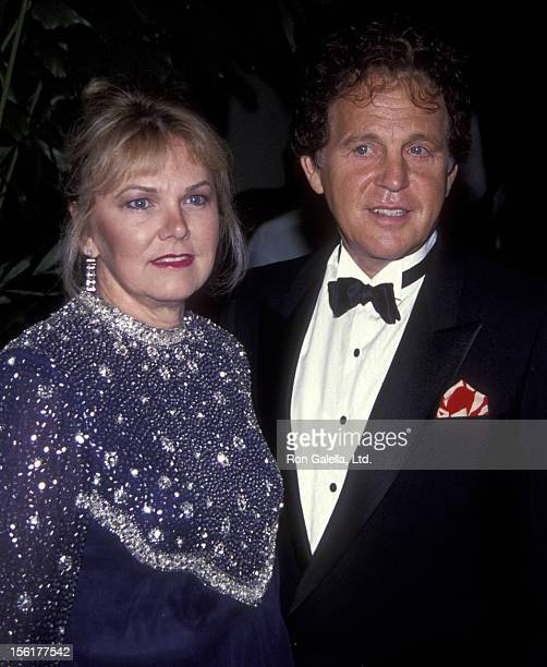 Singer Bobby Vinton and wife Dolly Vinton attend Carousel of Hope Ball Benefit on October 2 1992 at the Beverly Hilton Hotel in Beverly Hills...