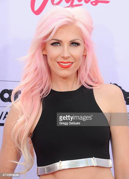 Singer Bonnie McKee arrives at the 2015 Billboard Music Awards at MGM Garden Arena on May 17 2015 in Las Vegas Nevada