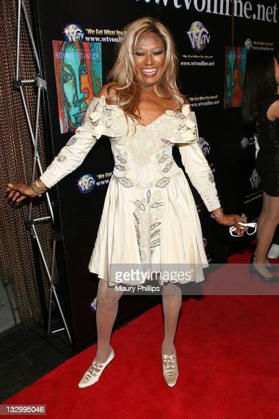 Singer Bonnie Pointer arrives at her CD Release Party on November 12 2011 in Los Angeles California