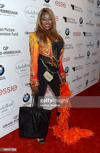 Singer Bonnie Pointer attends the 100th anniversary celebration of the Beverly Hills Hotel Bungalows supporting the Motion Picture Television Fund...