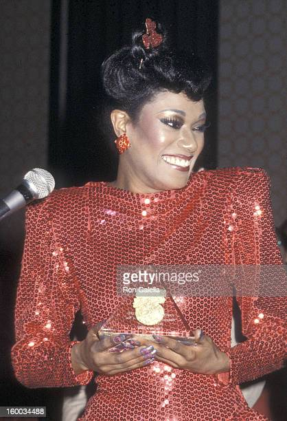 Singer Bonnie Pointer attends the Billboard's International Disco Forum VII on February 14 1980 at the Century Plaza Hotel in Century City California