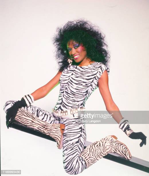LOS ANGELES 1979 Singer Bonnie Pointer poses for a portrait in 1079 in Los Angeles California