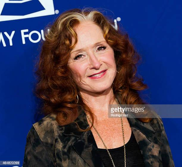 Singer Bonnie Rait attends A Song Is Born 16th Annual GRAMMY Foundation Legacy Concert Arrivals at The Wilshire Ebell Theatre on January 23 2014 in...