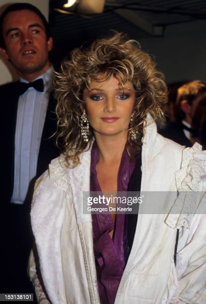 Singer Bonnie Tyler attends the British Record Industry Awards aka the BRIT Awards at the Grosvenor House Hotel in London 10th February 1986