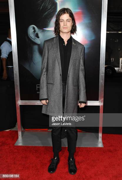 Singer Borns attends the premiere of Flatliners at The Theatre at Ace Hotel on September 27 2017 in Los Angeles California
