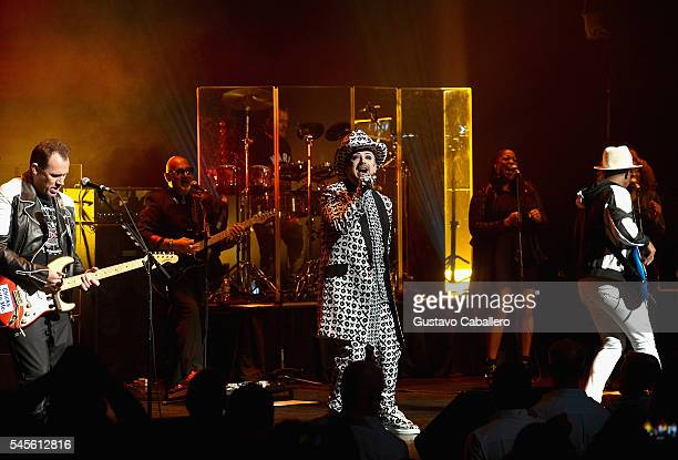 Singer Boy George of Culture Club performs at Broward Center For The Performing Arts on July 8 2016 in Fort Lauderdale Florida