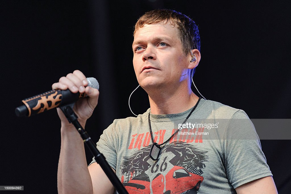 Singer Brad Arnold of the rock band 3 Doors Down performs during u0027FOX Friendsu0027  sc 1 st  Getty Images & 3 Doors Down Stock Photos and Pictures   Getty Images pezcame.com