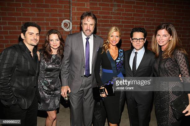 Singer Brad Paisley actress Kimberly Williams Paisley actor Kevin Nealon actress Susan Yeagley and event cochairs JJ Abrams and Katie McGrath attend...