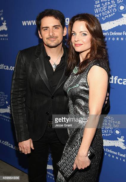 Singer Brad Paisley and actress Kimberly Williams Paisley attend Children's Defense Fund California Hosts 24th Annual Beat The Odds Awards at Book...