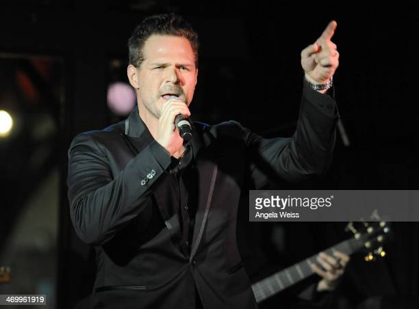 Singer Brad Sharp attends the SAG Foundation's launch of the Capital Campaign for Dales Scholarship Fund at Rockwell Table and Stage on February 16...