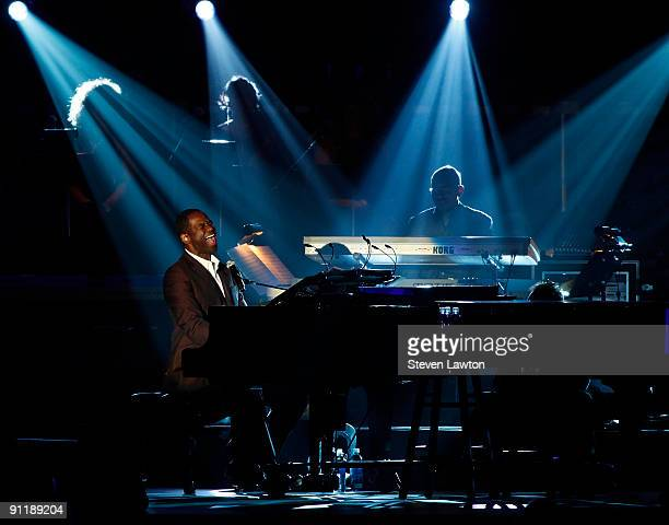 Singer Brain McKnight performs at the 14th annual Andre Agassi Charitable Foundation's Grand Slam for Children benefit concert at the Wynn Las Vegas...