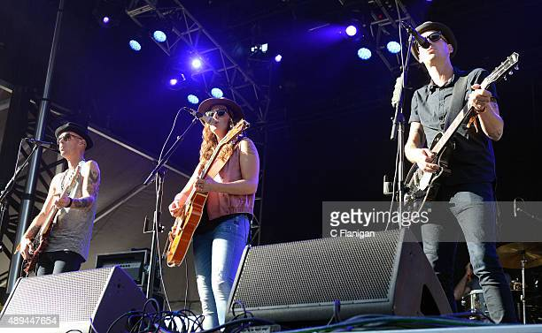 Singer Brandi Carlile performs onstage during 2015 KAABOO Del Mar at the Del Mar Fairgrounds on September 20, 2015 in Del Mar, California.