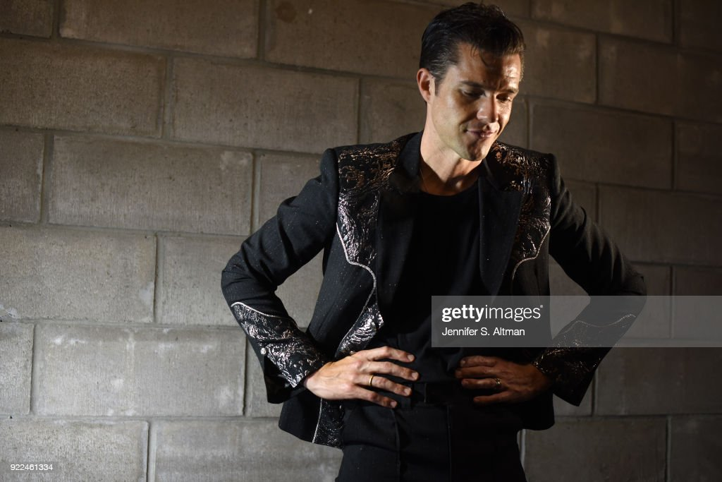 Singer Brandon Flowers of The Killers is photographed for Los Angeles Times on September 19, 2017 in New York City. PUBLISHED