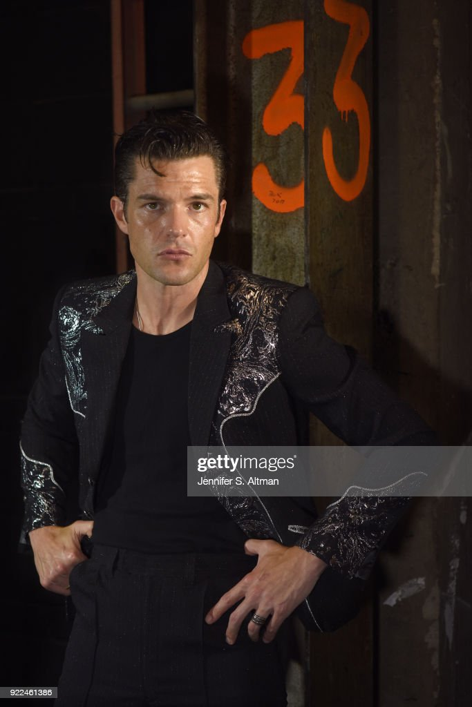 Brandon Flowers, Los Angeles Times, October 7, 2017 : Nachrichtenfoto