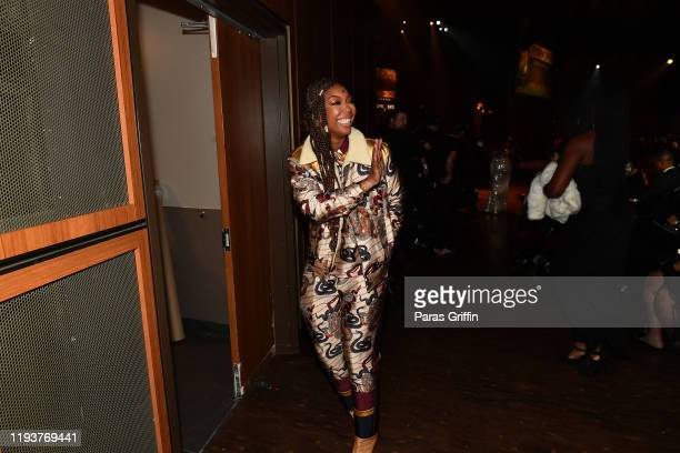 Singer Brandy attends 2019 Urban One Honors at MGM National Harbor on December 05 2019 in Oxon Hill Maryland