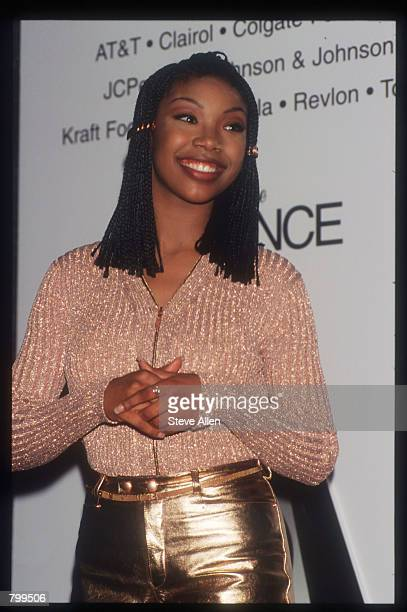 Singer Brandy attends the Essence Awards May 12 1995 in New York City The awards honored six African American men and women for their accomplishments...