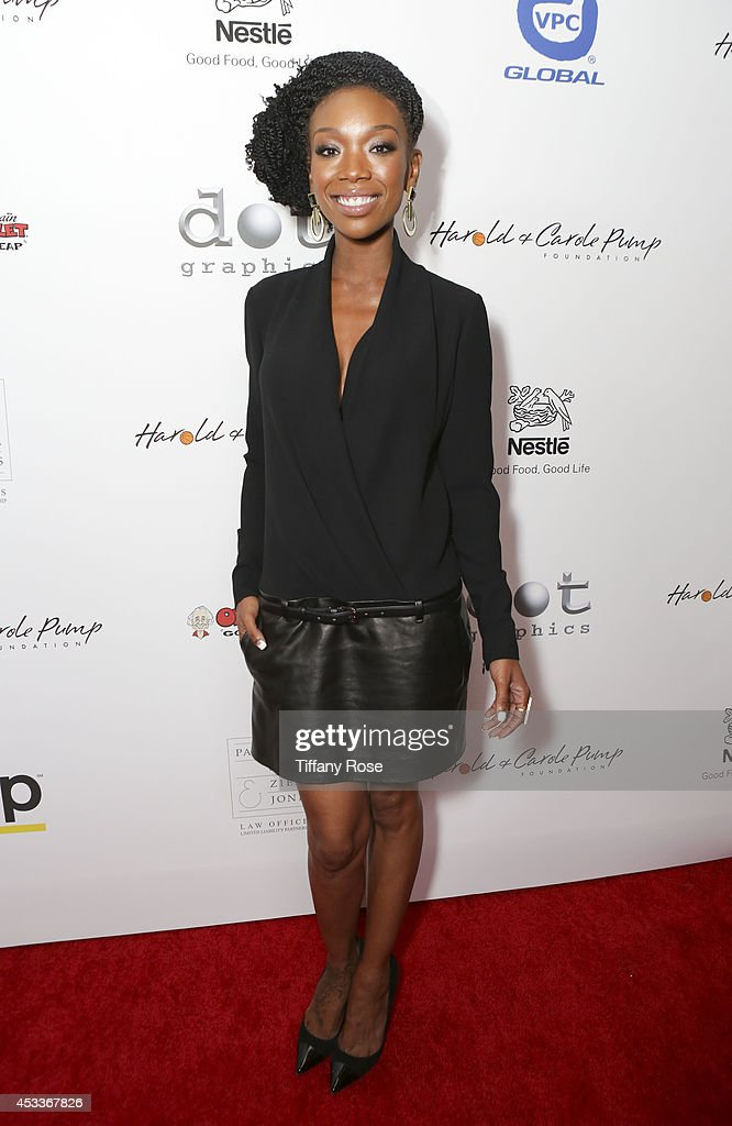Singer Brandy Norwood attends the 14th Annual Harold & Carole Pump Foundation Event on August 8, 2014 in Los Angeles, California.