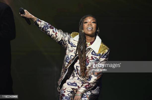 Singer Brandy performs onstage during 2019 Urban One Honors at MGM National Harbor on December 05 2019 in Oxon Hill Maryland