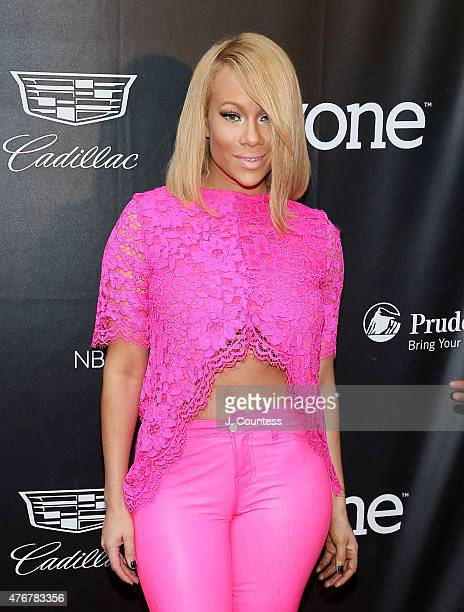 Singer Brave Williams attends the 'Dope' Opening Night Premiere at the 2015 American Black Film Festival at SVA Theater on June 11 2015 in New York...