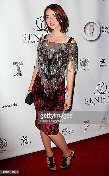Singer Breanna Lynn attends the 2nd Annual Inspiration Awards to benefit The Susan G. Komen For The Cure at Royce Hall, UCLA on November 4, 2012 in...