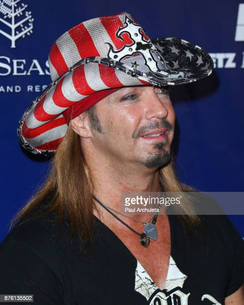 Singer Bret Michaels attends the 28th annual Talk Of The Town gala at The Beverly Hilton Hotel on November 18 2017 in Beverly Hills California
