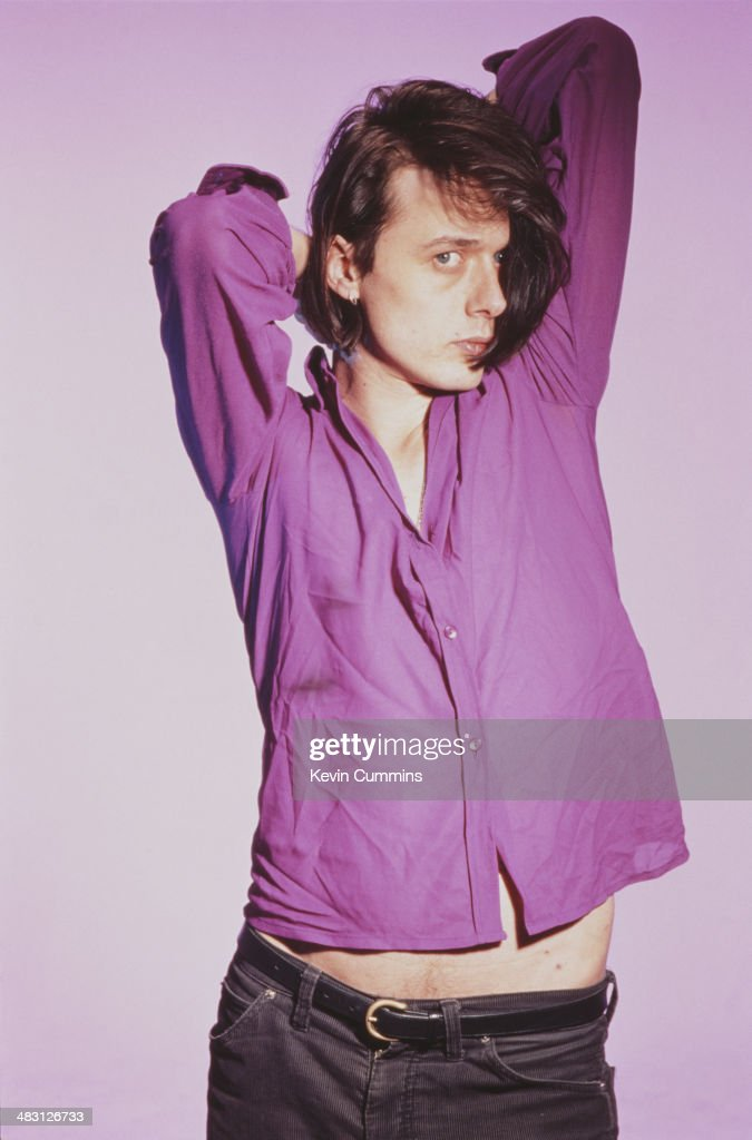 Singer Brett Anderson of British alternative rock band Suede, circa 1993.