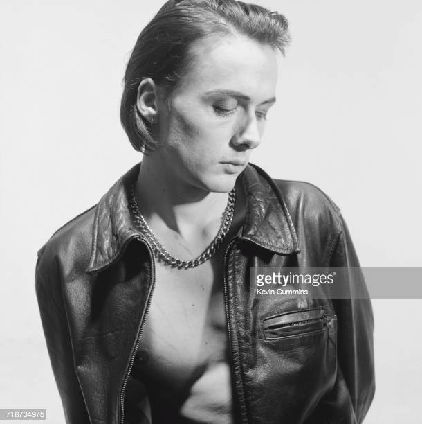 Singer Brett Anderson of British band Suede March 1993
