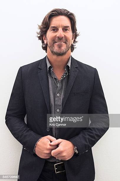 Singer Brett James poses for a portrait during the Stand With Songwriters Advocacy Day ASCAP Foundation Roundtable in the Dirksen Senate Office...