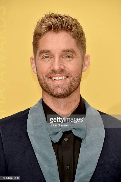 Singer Brett Young attends the 50th annual CMA Awards at the Bridgestone Arena on November 2 2016 in Nashville Tennessee
