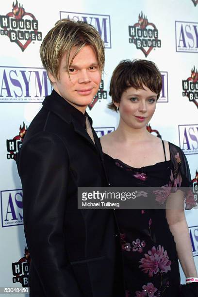 Singer Brian Culbertson and wife Michelle arrive at the American Society of Young Musicians' 13th Annual Spring Concert Awards at the House Of Blues...