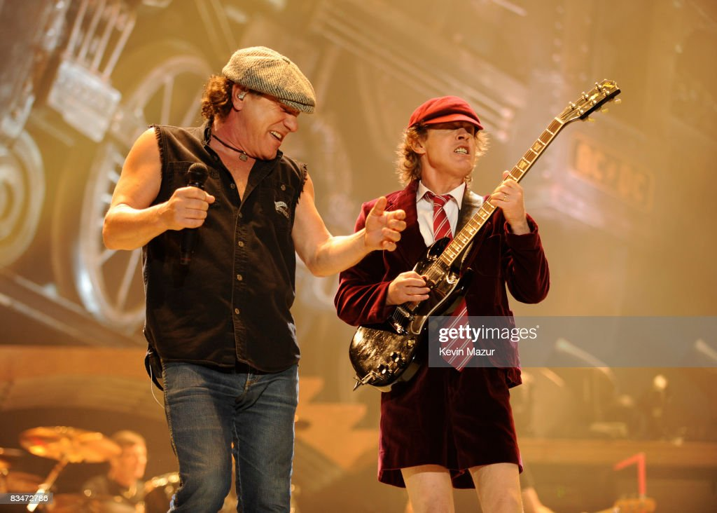 "AC/DC ""Black Ice"" Tour Opener on October 28, 2008 in Wilkes-Barre, Pennsylvania. : News Photo"