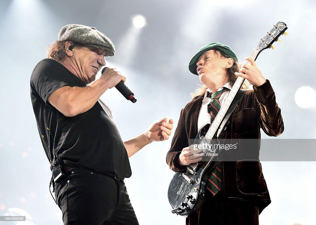 AC/DC Performs At Dodger Stadium