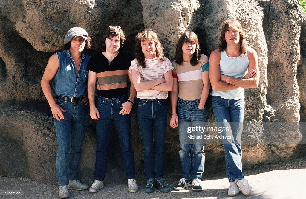 AC/DC Photo Shoot : Nachrichtenfoto