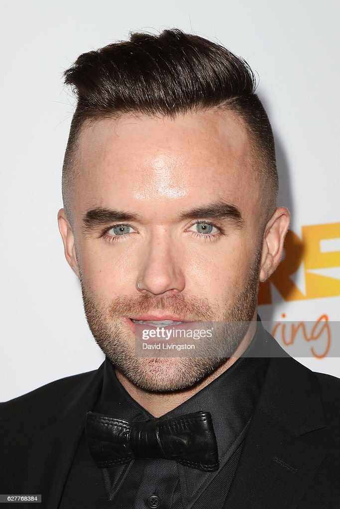 Singer Brian Justin Crum arrives at the TrevorLIVE Los Angeles 2016 Fundraiser at The Beverly Hilton Hotel on December 4, 2016 in Beverly Hills, California.