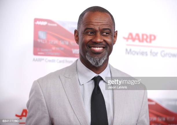 Singer Brian McKnight attends AARP's 16th annual Movies For Grownups Awards at the Beverly Wilshire Four Seasons Hotel on February 6 2017 in Beverly...