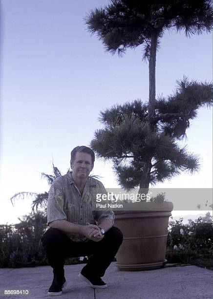 Singer Brian Wilson at home on September 12, 1999 in Los Angeles, California.